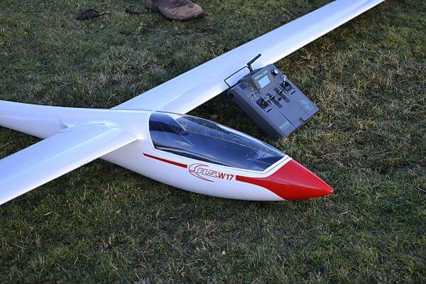 pat teakle gliders asw 17 glider