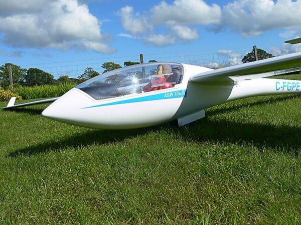 pat teakle gliders asw 20 glider