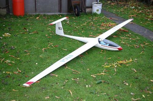 pat teakle vega scale glider sailplane for rc